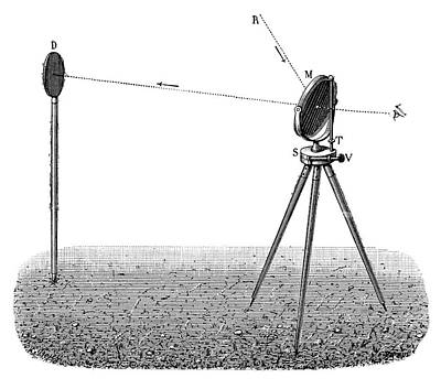 Heliograph Art Print by Science Photo Library