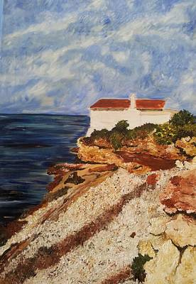 Denia Painting - Helios by Karen Williamson
