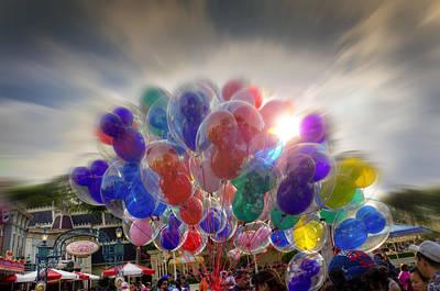 Photograph - Helium Ears by Ricky Barnard