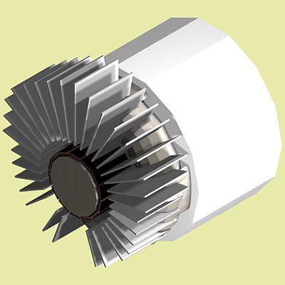 Helium Turbine Engine Full Assembly No Burner Original by Chris  Morton