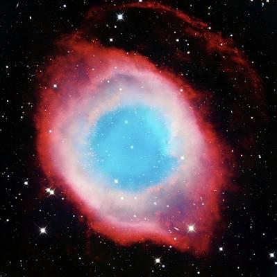 Helix Nebula Art Print by Adam Block/mount Lemmon Skycenter/university Of Arizona