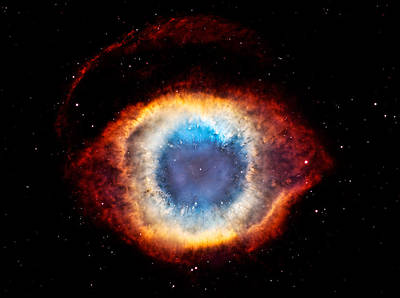 Photograph - Helix Nebula The Eye In The Sky by Weston Westmoreland