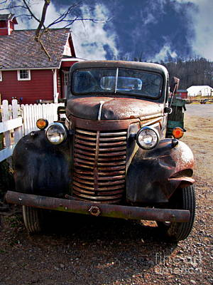 Old Trucks Photograph - Hell On Wheels by Colleen Kammerer