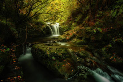 Asturias Photograph - Hell River by Glendor Diaz Suarez