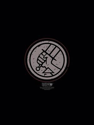 Toro Digital Art - Hellboy II - Mignola Style Logo by Brand A