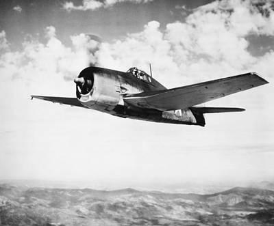 Grumman F6f Hellcat Photograph - Hellcat Aircraft, 1943 by Granger