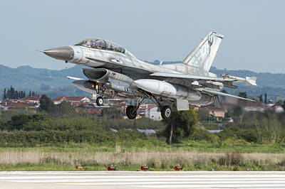 Photograph - Hellenic Air Force F-16d Block 50 by Daniele Faccioli