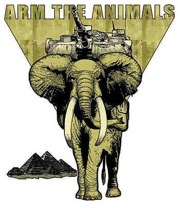 Hellephant Gold Original by Arm The Animals