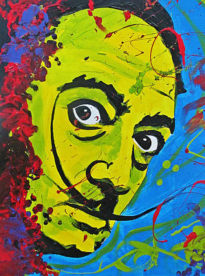 Painting - Hello Dali by Michelle Dallocchio