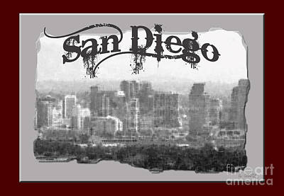 Photograph - Hello From San Diego by Diana Raquel Sainz