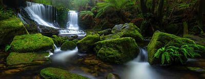 Waterfall Photograph - Hello Horseshoe by Jason L. Stephens