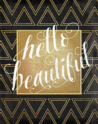 Hello Print by Jennifer Pugh