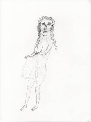 Drawing - Hello by Jim Taylor