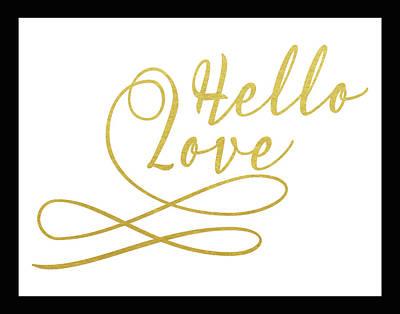 Family Love Painting - Hello Love by Tara Moss