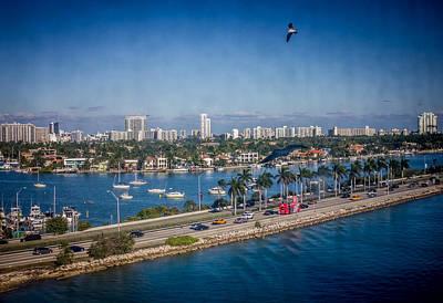 Photograph - Hello Miami by Sara Frank