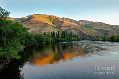 Photograph - Hells Canyon Morning Reflections by Robert Bales
