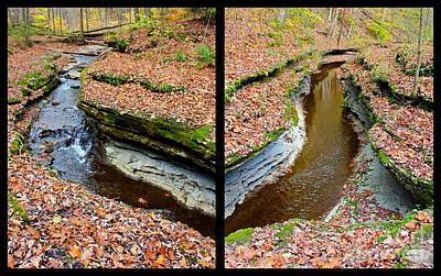 Hells Hollow Trail Print by Marie Spence