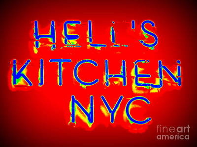 Hell's Kitchen Nyc Art Print