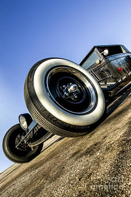 Hot Rods Photograph - Helltrain- Zane Cox by Holly Martin