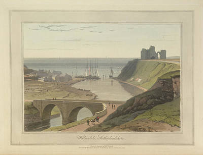 In The Round Photograph - Helmsdale In Sutherland by British Library