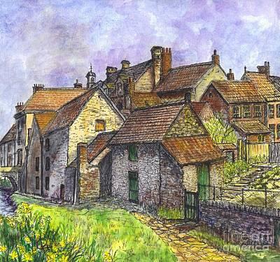 Helmsley Village -  In Yorkshire England  Art Print