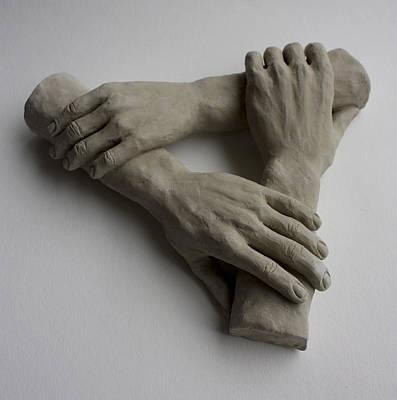 Sustain Sculpture - Helping Hands by Derrick Higgins