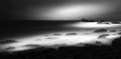 Coast Wall Art - Photograph - Helplessness Sunset Blues by Paulo Abrantes