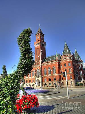 Mellow Yellow - Helsingborg town hall HDR by Antony McAulay