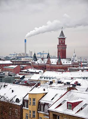 Helsingborg Photograph - Helsingborg Winter 01 by Antony McAulay