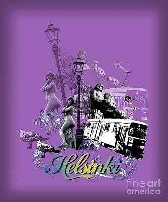 Helsinki Art Print by Alan Hogan