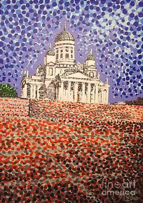 Helsinki Cathedral Original by Alan Hogan