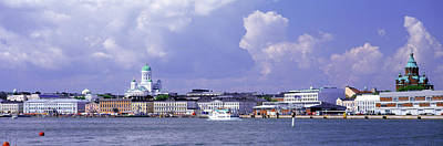 Helsinki Photograph - Helsinki, Finland by Panoramic Images