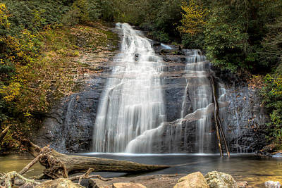 Helton Creek Falls Art Print by Anna Rumiantseva