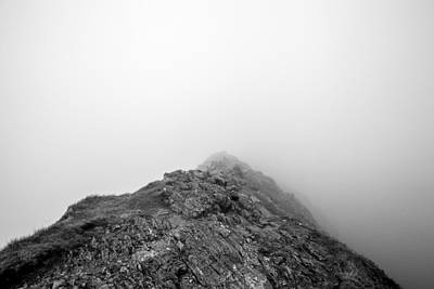 Art Print featuring the digital art Helvellyn by Mike Taylor
