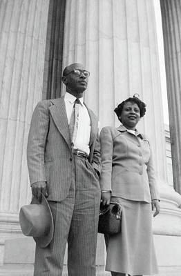Civil Rights Painting - Heman Sweatt (1912-1982) by Granger