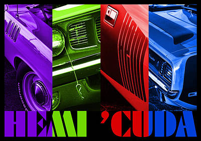 Photograph - Hemi 'cuda by Gordon Dean II