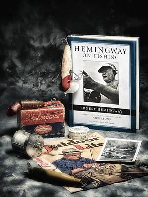 Photograph - Hemingway Book by Dennis James