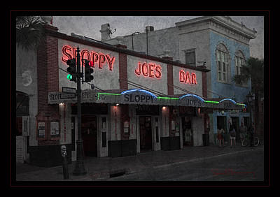 Sloppy Joes Bar Photograph - I Heard I Was In Town by John Stephens