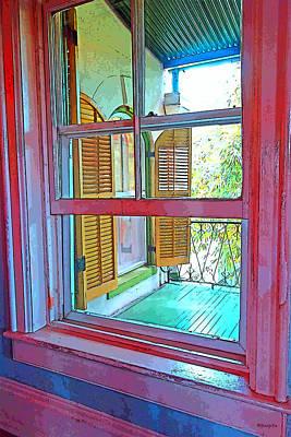 Old House Photograph - Hemingway Window Key West by Rebecca Korpita