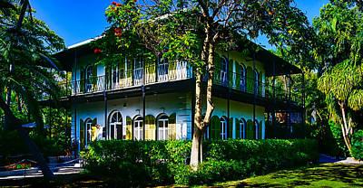 Hemingway House Wall Art - Photograph - Hemingway's Home by Vaughn Garner