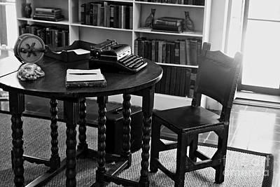 Hemmingway's Desk Art Print by David Rucker