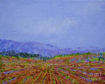 Painting - Henderson Farm by Gail Kent