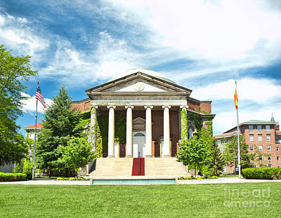Photograph - Hendricks Chapel by Debra Millet