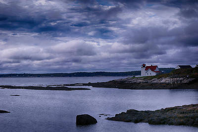 Hendricks Head Light Art Print by Jeff Folger