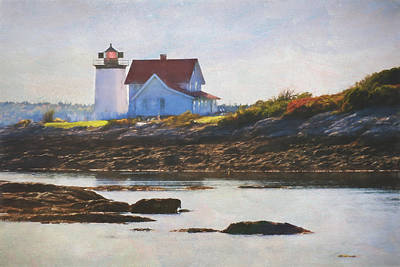 Hendricks Head Lighthouse - Maine Art Print
