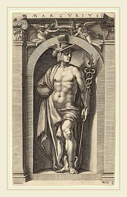 Hendrik Goltzius After Polidoro Da Caravaggio Dutch Art Print by Litz Collection