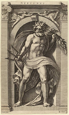 Hendrik Goltzius After Polidoro Da Caravaggio Dutch Print by Quint Lox