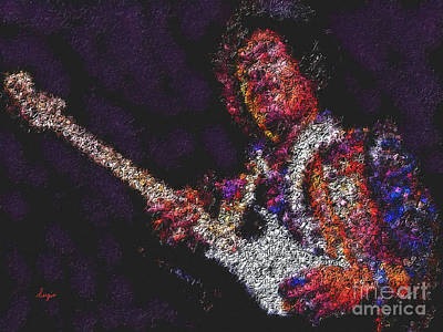 Jimmy Hendrix Painting - Hendrix by Sergio B