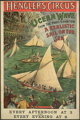 Hengler's Circus Art Print by British Library