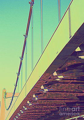 Photograph - Hennepin Ave. Bridge by A K Dayton